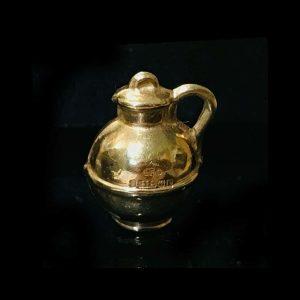 Lovely Vintage 9ct, 9k, 375 gold, Milk churn jug charm, Maker EFC dated 1959
