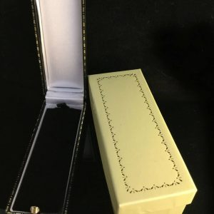 Art Nouveau 15ct, 15k, 625 Gold pearl fleur de lys stick, tie, cravat pin