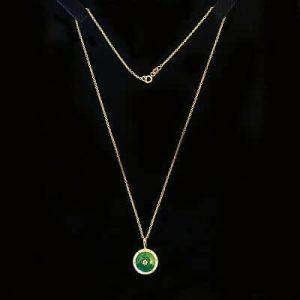 Edwardian 15ct, 15k, 625 Gold Guilloche Enamel & Diamond pendant, C1910