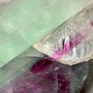 Gorgeous, solid Fluorite Gemstone vase, measurements 11x11cm, heavy weight 48oz