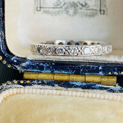 Stunning Platinum Full diamond 0.66ct Eternity, anniversary/wedding ring 0.66ct