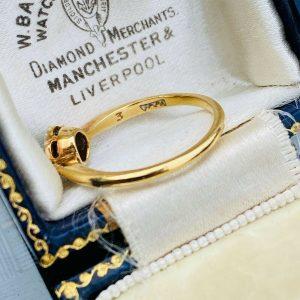Art deco, 18ct, 18k, 750 Gold, Diamond, Daisy, cluster engagement ring, C1920