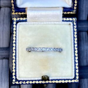 Stunning 14ct White gold Diamond eternity, anniversary, wedding, stacking Ring